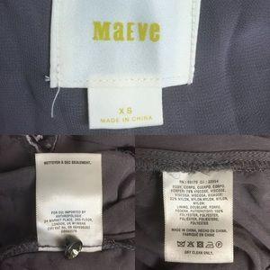 Anthropologie Pants - Maeve Velvet Wide Skirt Leg Jumper Jumpsuit